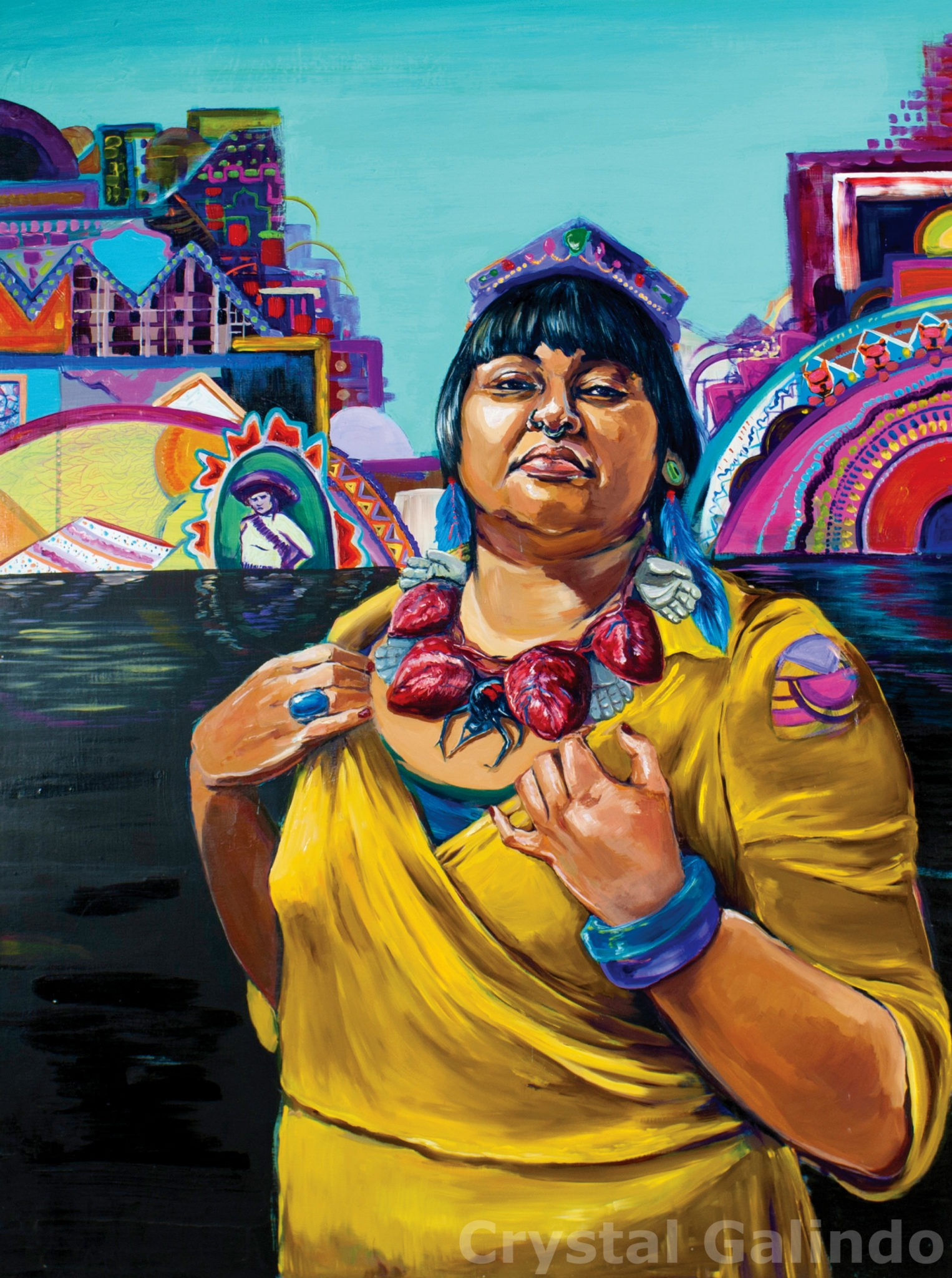 Interview with Yaqui-Xicana artist Crystal Galindo