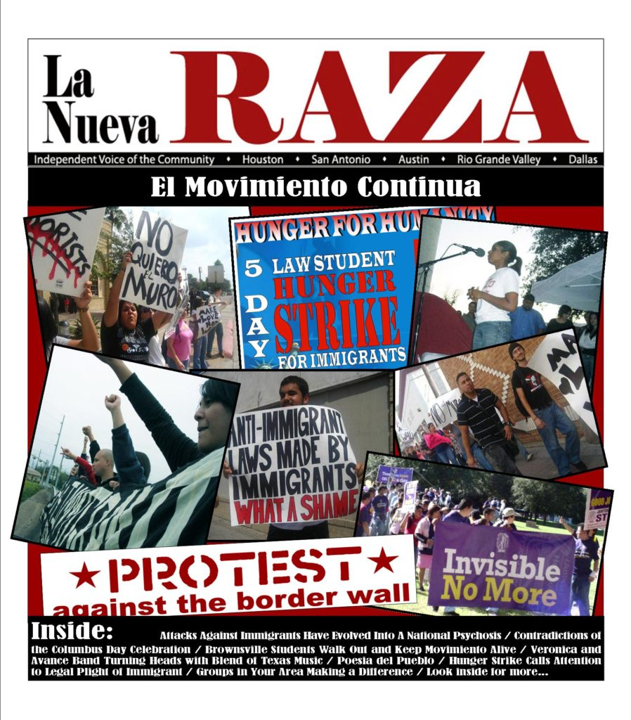 Read more about the article NOW ONLINE:  La Nueva Raza barrio resistance news archive shares Texas Mexicanx/Xicanx history (2004-2009)