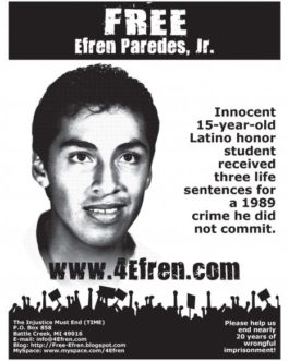 Free Efren: Sign the petition