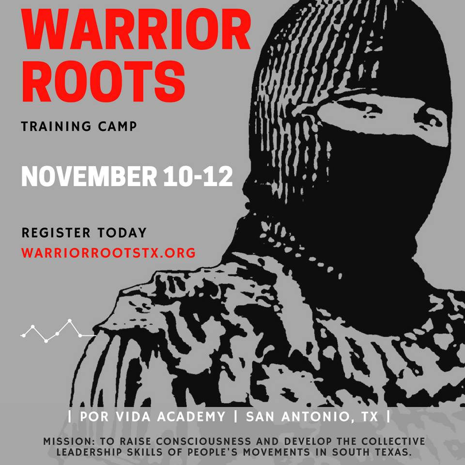 San Antonio: Warrior Roots Conference Nov. 10-12