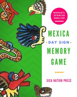Mexica Day Sign Memory Game (Printable)