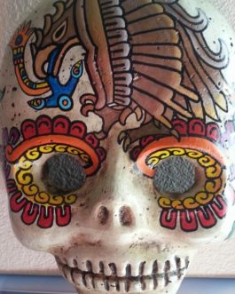 Day of the Dead Skulls (Arte Yolteotl)