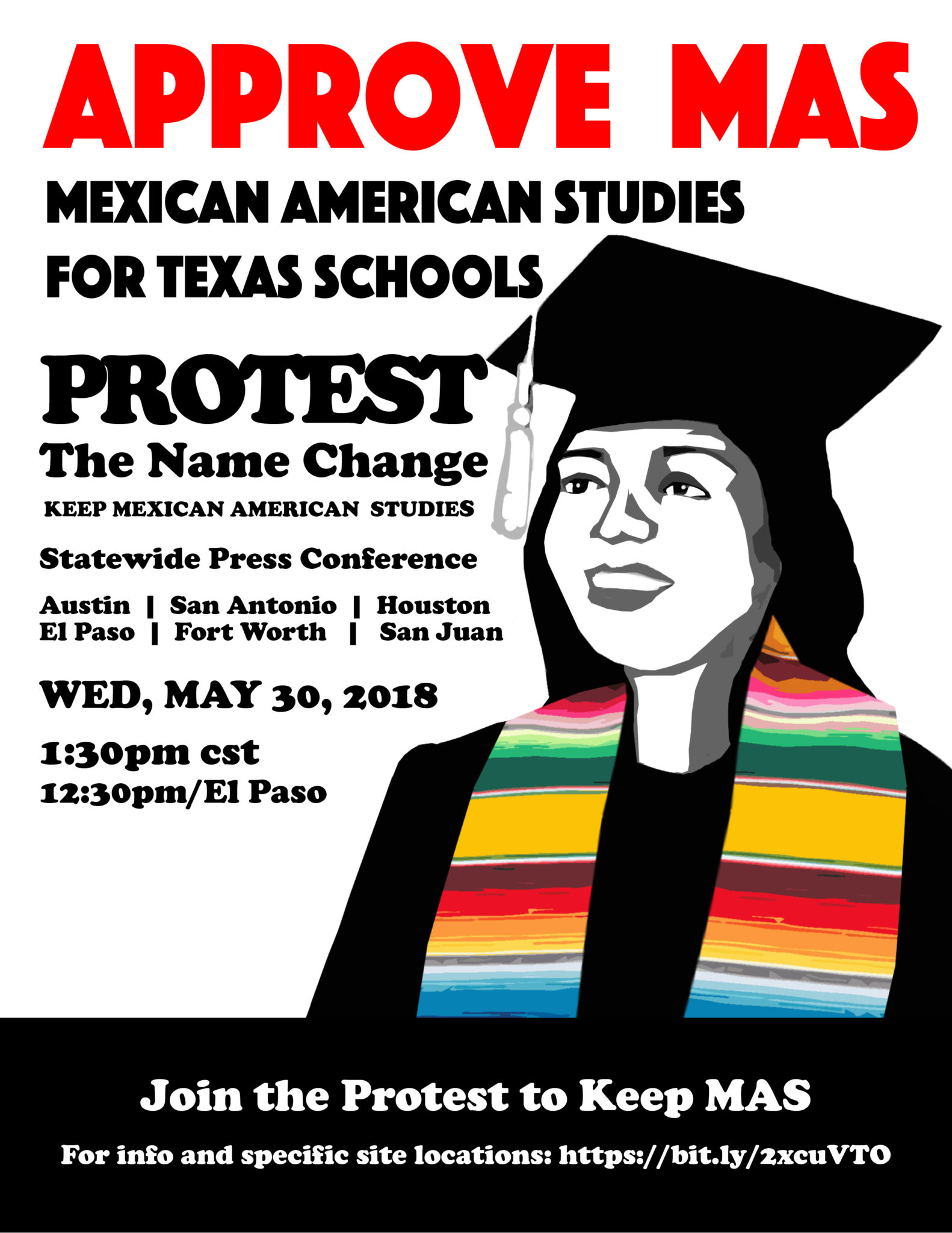 Protest the Name Change/Keep Mexican American Studies