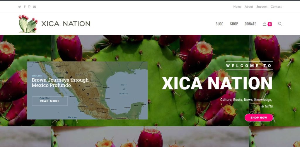 Write for Xica Nation / Escriba para Xica Nation