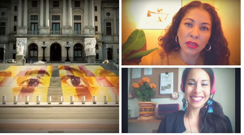 "Interview with Michelle Angela Ortiz about the ""Familias Separadas"" public art project in Pennsylvania"