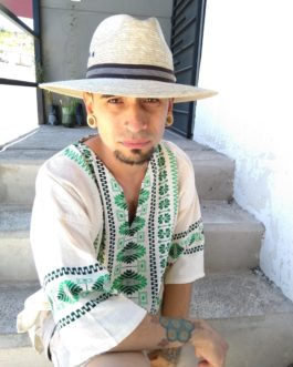 Mexican Straw Hat from Michoacan
