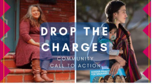 DROP THE CHARGES: Call for community action