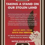 McAllen 7/27: Taking A Stand On Our Stolen Land