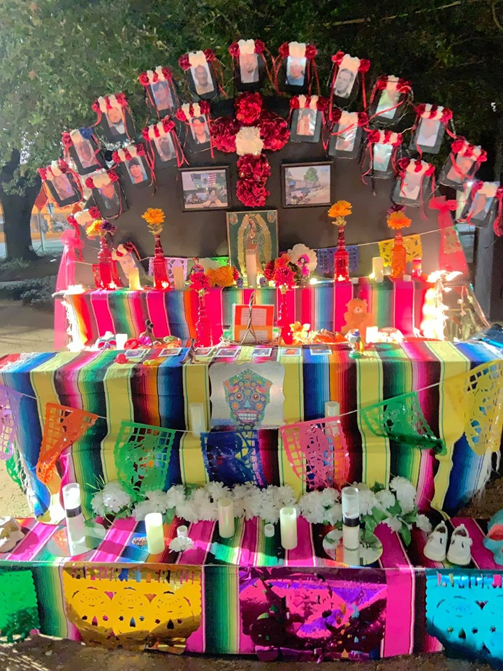 FRIDAY: Dia De Los Muertos in San Antonio Honors El Paso and Detention Center Victims