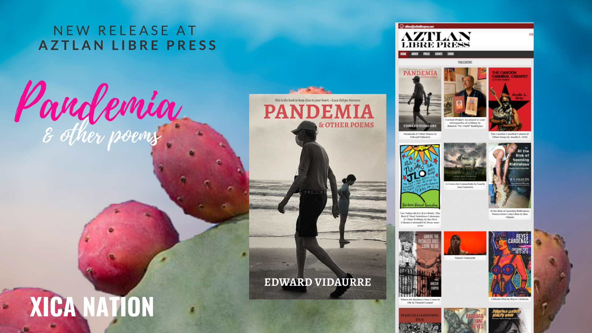New release at Aztlan Libre Press: Pandemia & Other Poems